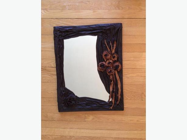 Leather Mirror Designer