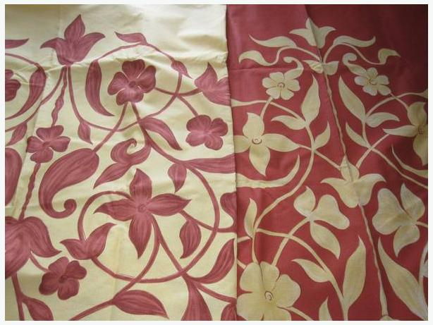 designer fabric panels