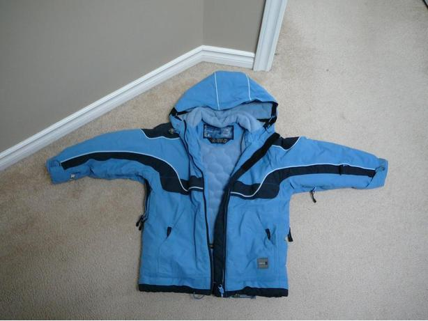 Boys med/size blue winter parka