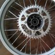 GAS GAS Trials rear wheel