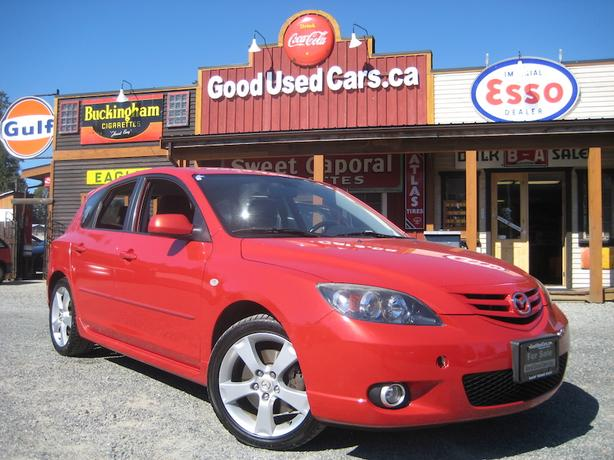 2005 Mazda 3 GS Wagon 2.3L - Sporty Automatic with Tiptronic Transmission
