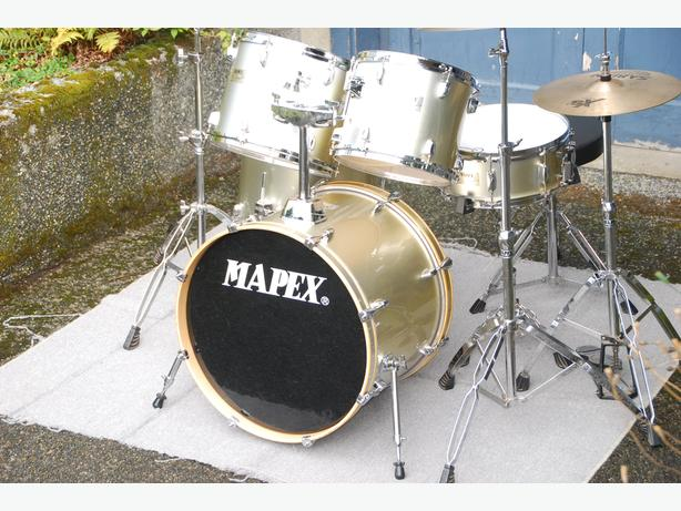 MAPEX INTERMEDIATE DRUM SET – COMPLETE AND READY TO PLAY