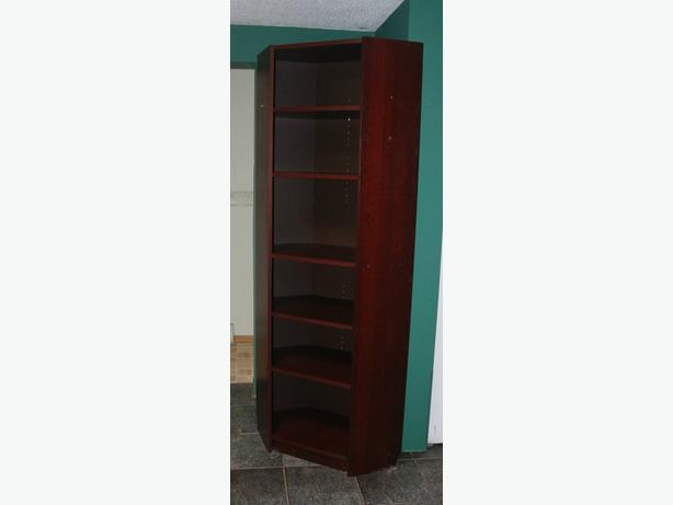 Book shelves with adjustable shelves