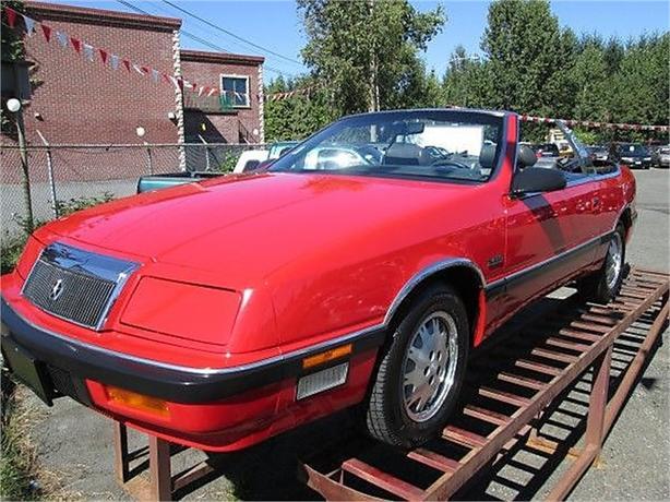 1989 Chrysler Le Baron Premium convertible