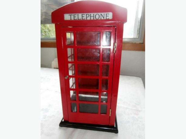British Telephone Booth Replica