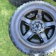 5 20x10 Rockstar 2 rims with 305 55 20 Nitto Terra Grappler AT Tires