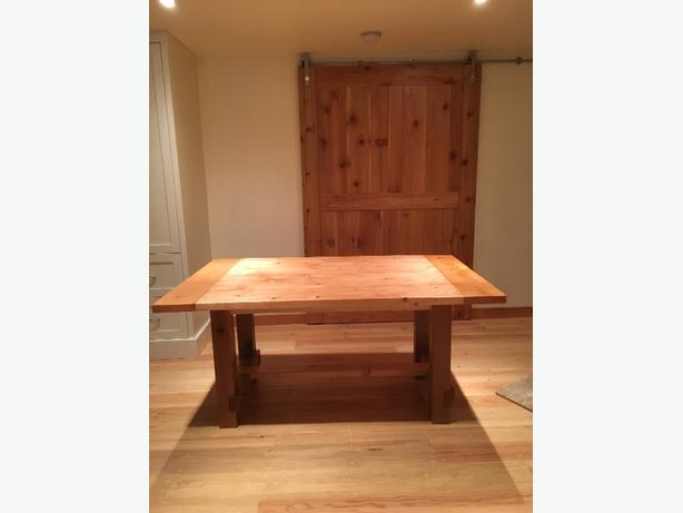 Rustic Distressed Kitchen Table