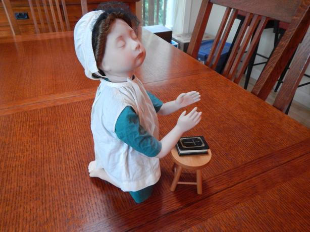 "Amish Blessings   Julie Good-Kruger   ""AT PRAYER"""