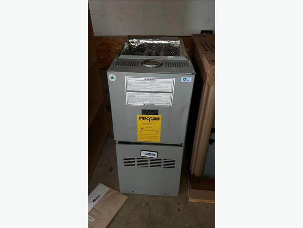 used great condition 40000 btu natural gas furnace