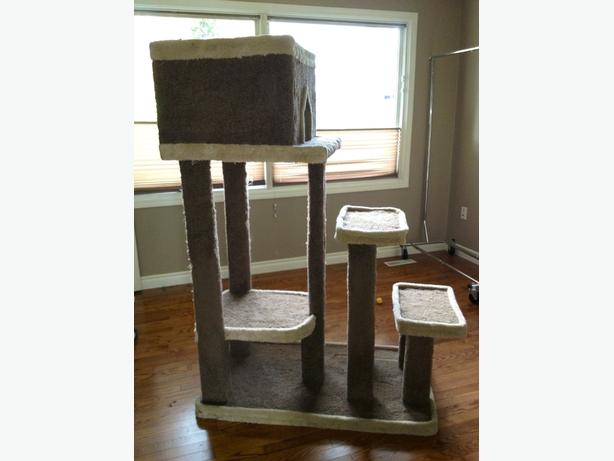 FREE Large Custom Made Cat Scatcher House