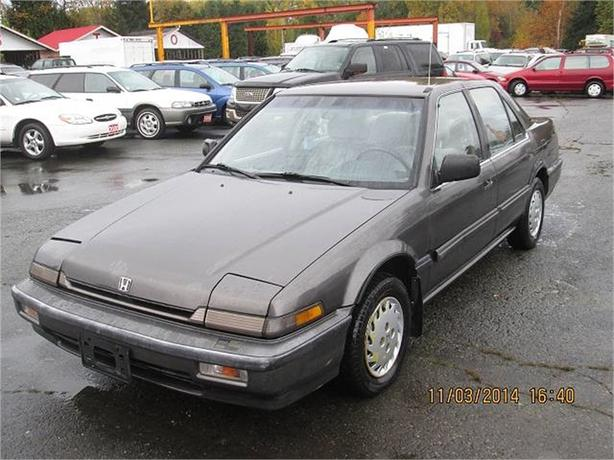 1988 Honda Accord LX sedan