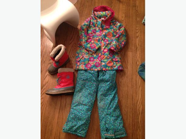 Hanna Andersson 2pc snowsuit