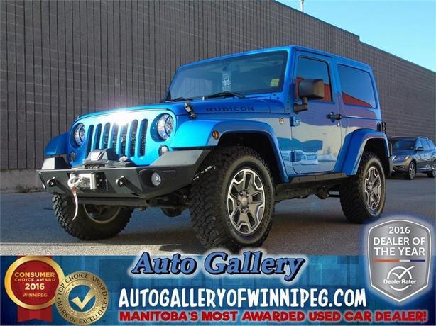 2014 Jeep Wrangler Rubicon*4x4/Lthr
