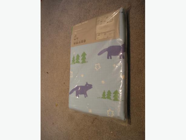 NEW  Ikea Vilda Hund Kids Bed Sheets