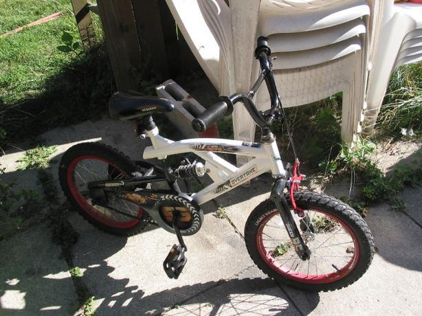 Disney lightening McQueen child suspension bike