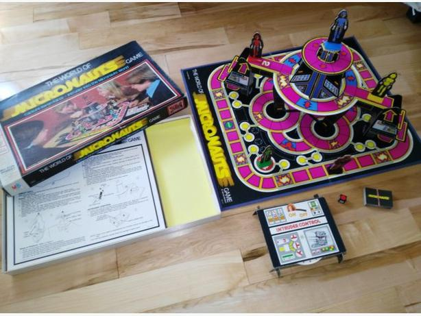 Hard To Find Vintage 1978 World Of Micronauts Board Game