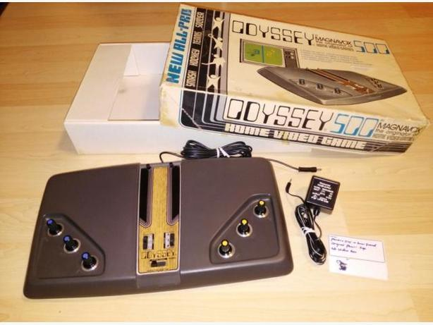 1976 Magnavox Odyssey 500 With Box - Works