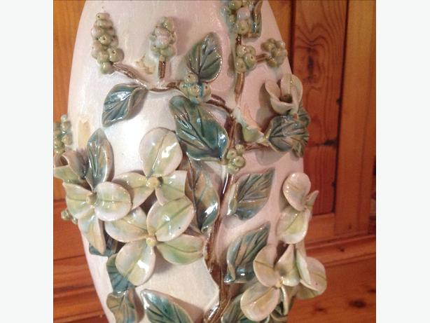 "vase for sale. 15"" tall"