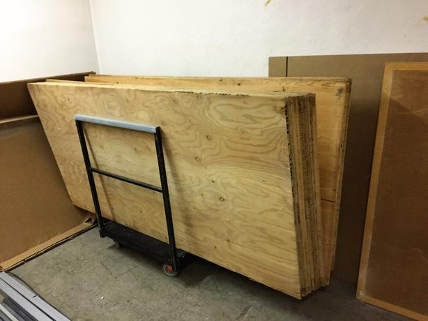 Plywood for sale 13mm thick, 4x8