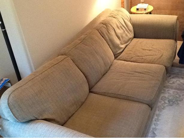 Very large comfortable sofa