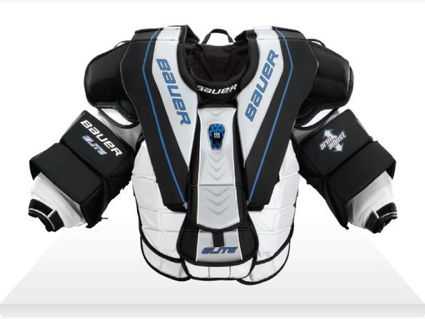 Sr Bauer elite goalie chest protector