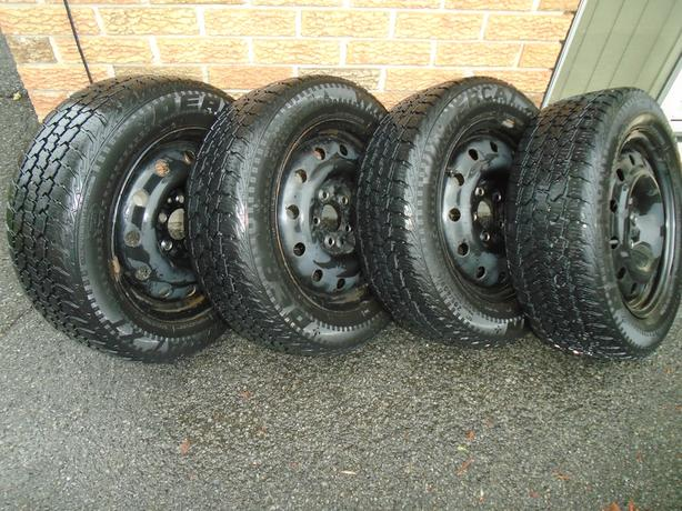 16 inch winter tires on steel rims for sale nepean ottawa mobile. Black Bedroom Furniture Sets. Home Design Ideas