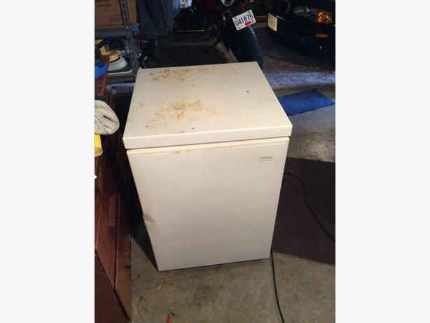 apartment size freezer two feet by two feet obo saanich