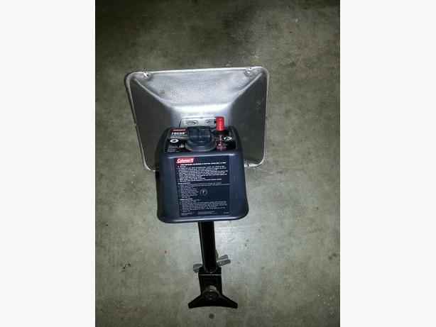 Coleman propane heater