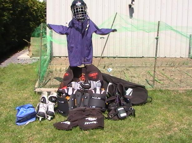Hockey Equipment & rollerblade
