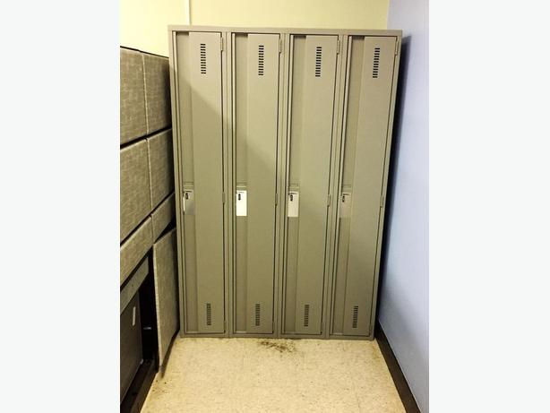 Lockers, full door.