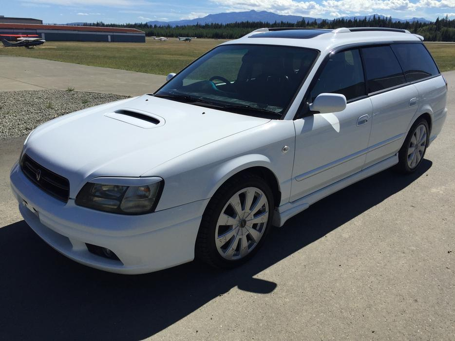 1998 Subaru Legacy Wagon Gt Twin Turbo Awd Outside Nanaimo