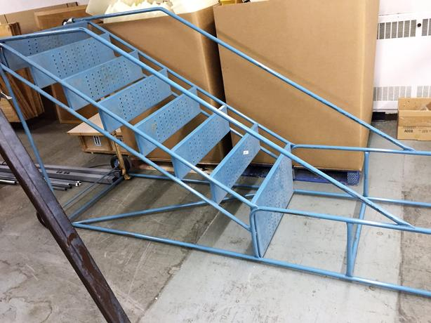 Industrail Stairs for shop or warehouse.