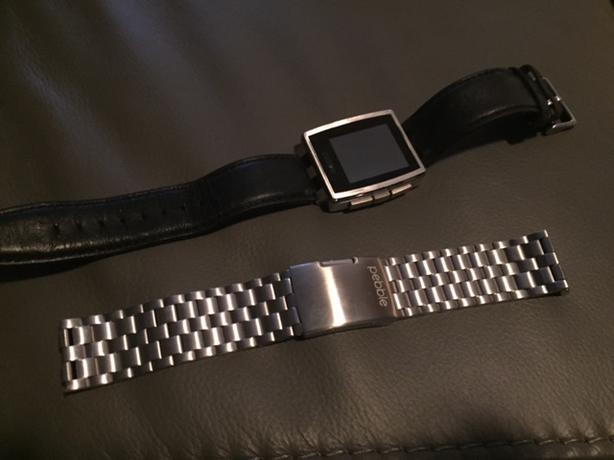 Pebble Watch - heart rate monitor much like fit bit/apple watch
