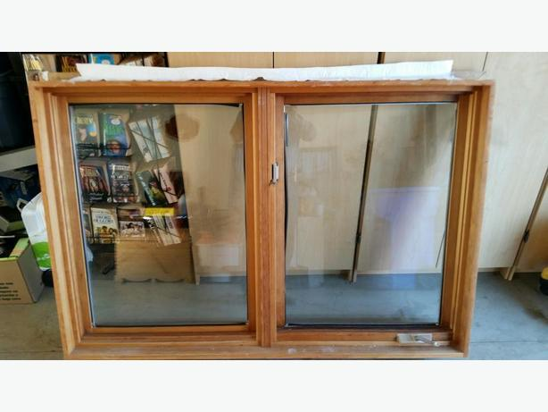 Wood frame windows & screens