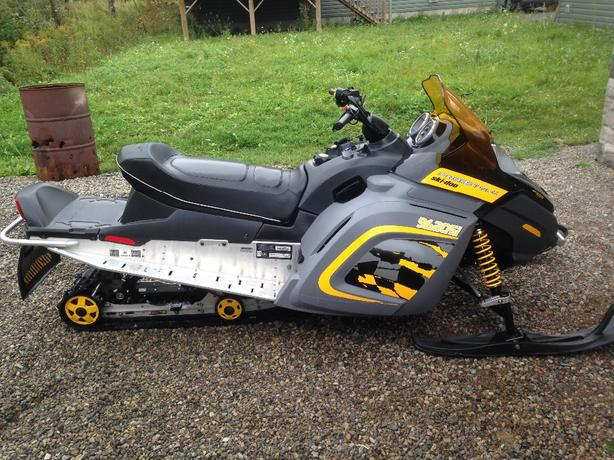 2006 skidoo freestyle 300