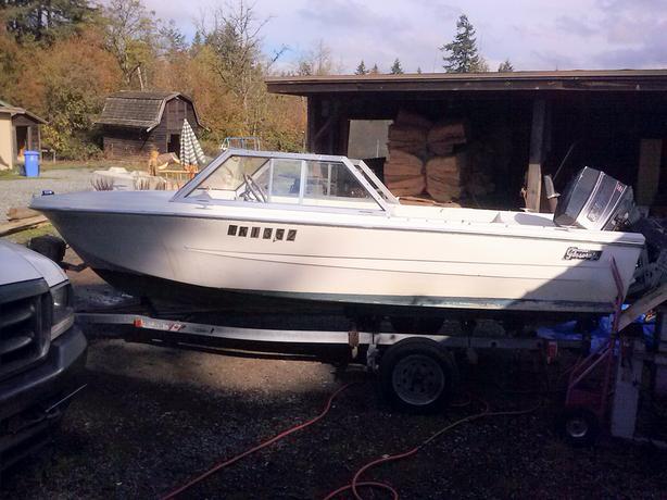 16 Ft Speed boat & Roadrunner Trailer