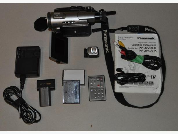 Price reduced - Panasonic PV-D200-K Mini Dv Stereo Camcorder