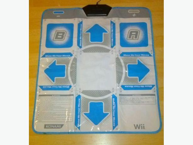 Konami Dance Pad Controller For The Nintendo Wii