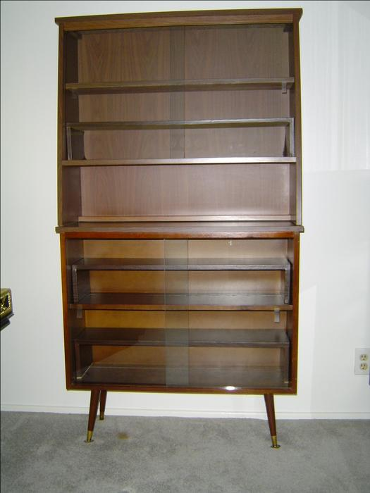 China Cabinet With Sliding Glass Doors 2 Piece North