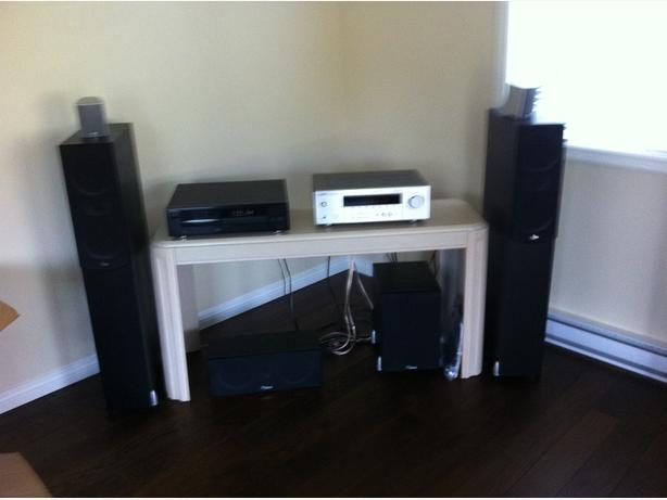 SOUND SURROUND SYSTEM/ CD PLAYER