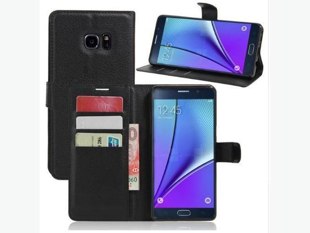 Leather Flip Stand Wallet Case for Samsung Galaxy Note 7