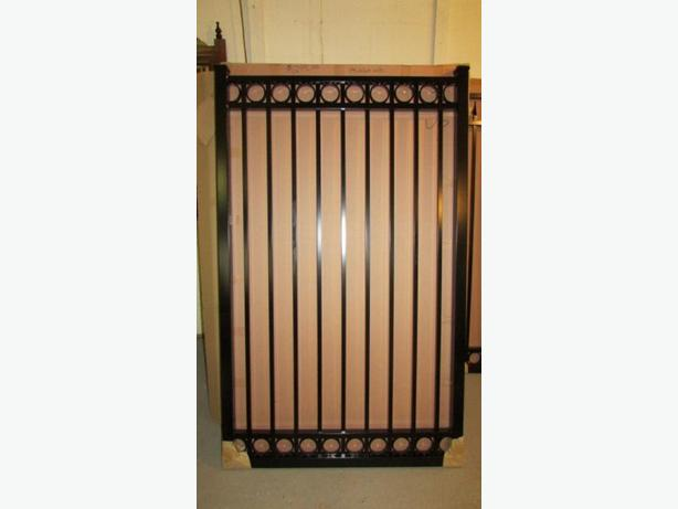 garden gates Aluminum  4ft 5 ft and 6 ft tall   all 44inches wide  12 styles