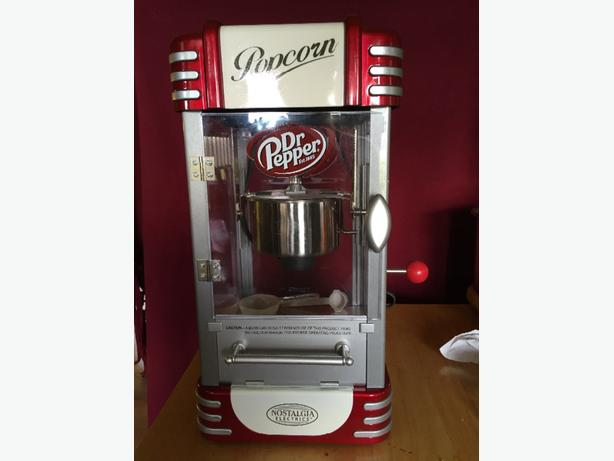 nostalgia electrics vintage popcorn machine
