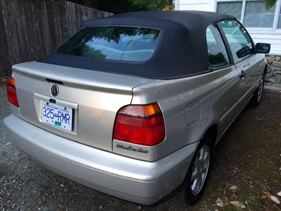 97 Volkswagen Cabrio Malahat Including Shawnigan Lake