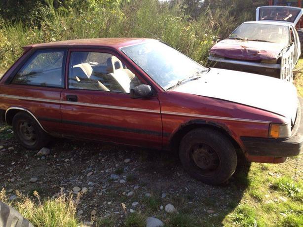 $325 Toyota Tercel 1990
