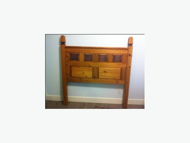 Pier 1 Imports Solid Wood Double Bed Frame