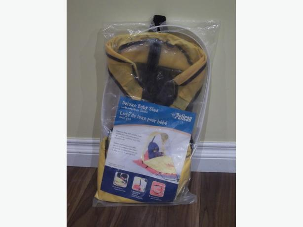 BY PELICAN DELUXE BABY SLED  WEATHER SHIELD