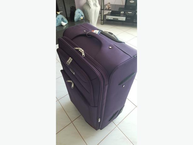 "Lightweight, 28"", 4-wheel luggage"