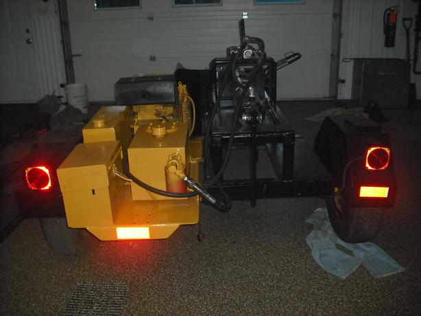 power pack/woodsplitter