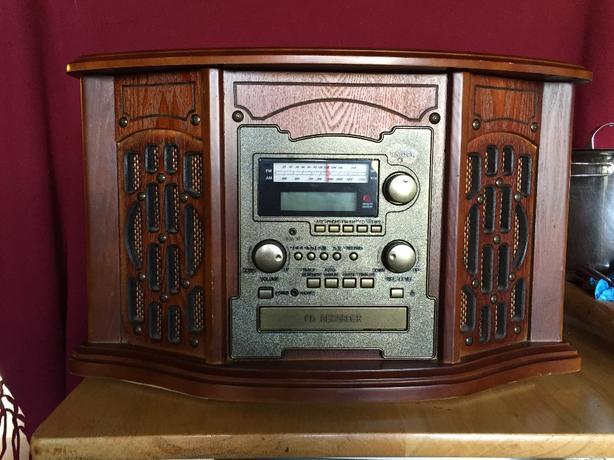 record player/radio/cassette/cd